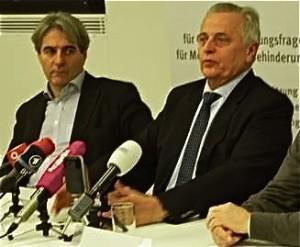 Pressekonferenz Buchinger und Hundstorfer